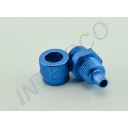 """G1/8 Comp Barb Suit Festo 8mm & 5/32"""" Tygon Tube Knurled for Digitech & Intairco UAT"""