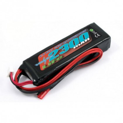 VOLTZ 2300mAh 2S 6.6V RX LiFe 1/5th Straight Battery Pack VZ0260 5055323954344