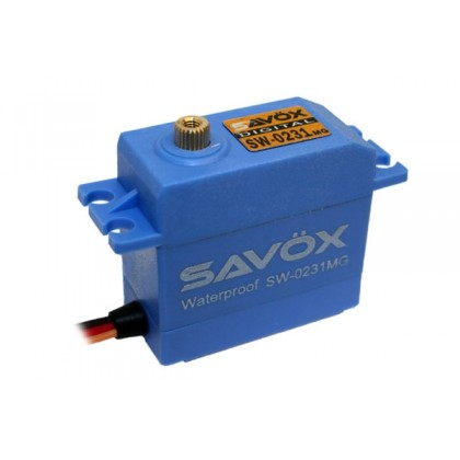 Savox SW-0231MG Waterproof HV Digital Servo 15kg/0.17s@6v