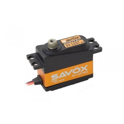 Savox SV-1257MG HV Digital Mini Size Rudder Servo 4kg/0.055s@7.4V