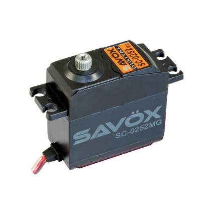 Savox SAV-SC0252MG STD Size Digital Servo Metal Gear