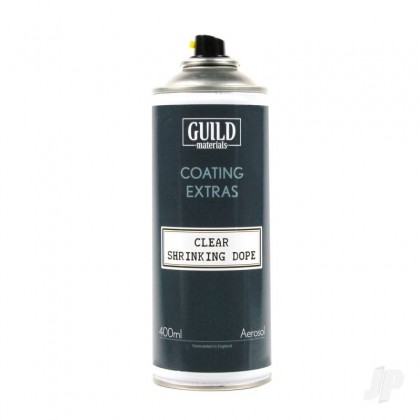 Guild Materials Clear Shrinking Dope 400ml Aerosol (GLDCEX1000400)