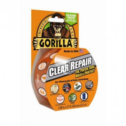 Gorilla Clear Repair Tape 48mm x 8.2m