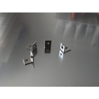 Grumania Jets Steel brackets with M3 thread (GWINKD)