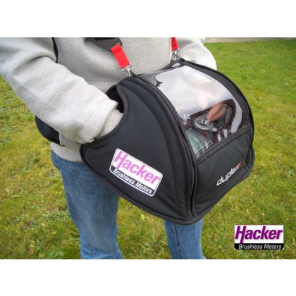 Hacker RC TX Glove for Jeti DC & DS DUPLEX 2,4EX Radios with or without tray 80001526