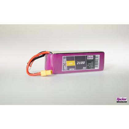 Hacker TopFuel LiFe Battery 3S 2100mAh 30C XT60 MTAG 92100351