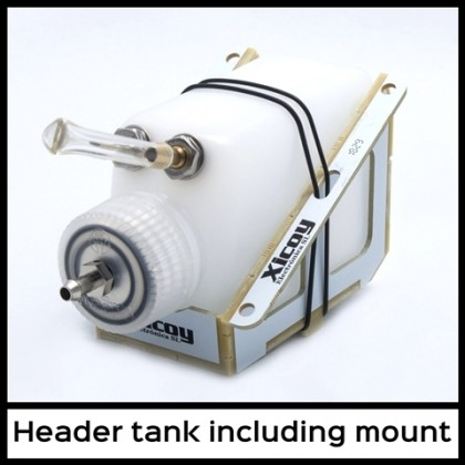 This Header Tank UAT including Mount by Xicoy HT125Sup