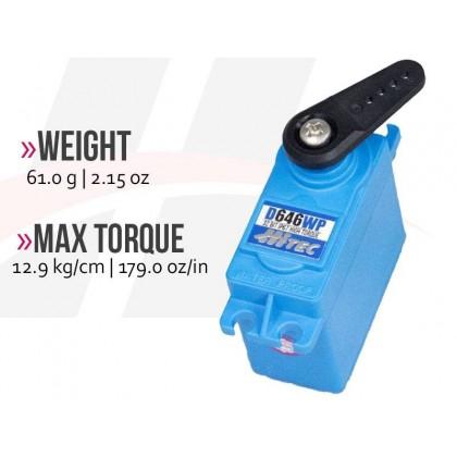 Hitec D646WP Wide Voltage Waterproof Servo 2221280