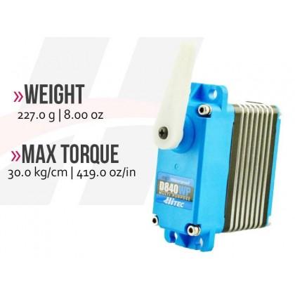 Hitec D840WP WV Waterproof Mega Scale Speed 2221302