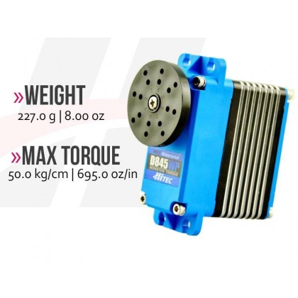 Hitec D845WP WV Waterproof Mega Scale Torque 2221305
