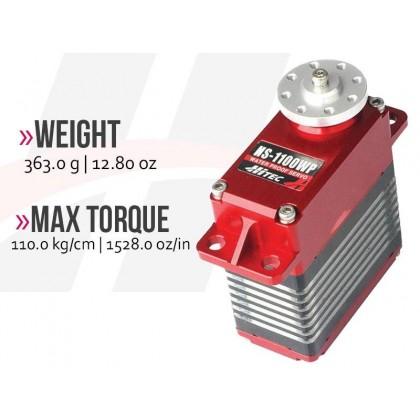 Hitec HS1100WP High Voltage Waterproof Giant Servo 2222360