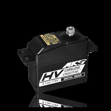 MKS HV1250 Coreless Servo 20 mm, 11 kg/cm, 0.054 s/60°