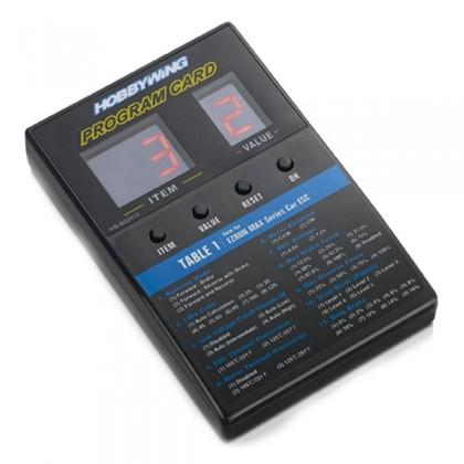 HOBBYWING LED PROGRAM CARD - GENERAL HW30501003