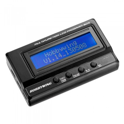 Hobbywing Multifunction LCD Program Box HW30502000
