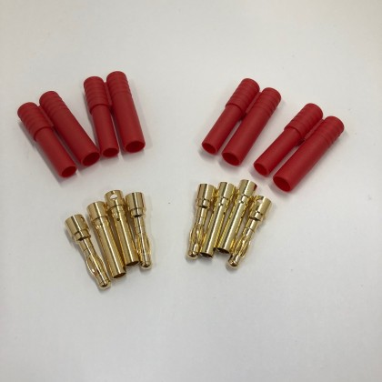 HXT 4mm Connector Set - 2 Pairs