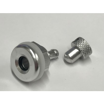 Intairco High Flow 6mm Fuselage Vent Fitting with Blanking Plug 4mm Barb IAC-317-2