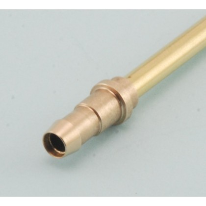 "Super Flow Solder Barb Fitting -Suits (Pack 2) 5/32"" (4mm) Brass Tube and 6mm Festo and XL Tygon Tubing from Intairco IAC-9112"