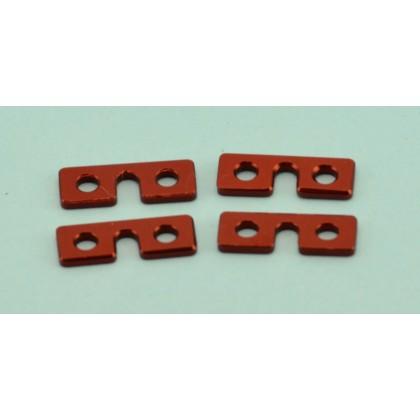 CNC Servo Washers (4 piece) - Suits Standard Size JR / Spektrum Futaba & Hitec Servos by Intairco IAC-668