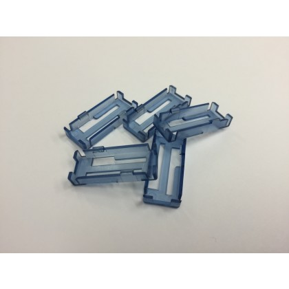 Safety Lead Lock Clips Blue Loc 5 Pack