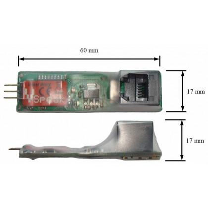 Jetcat ECU Converter for Turbine Telemetry from VSpeak