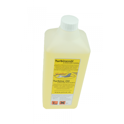 JetCat Turbine Oil with Antistatic Additive 1L 61197-00