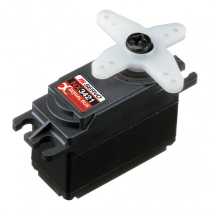 JR Propo NX3421 XBUS Pro Mini MG WV Smart Servo