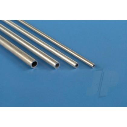 K&S 3mm  x 1m Round Aluminium Tube, .45mm Wall (Single Piece) 3902