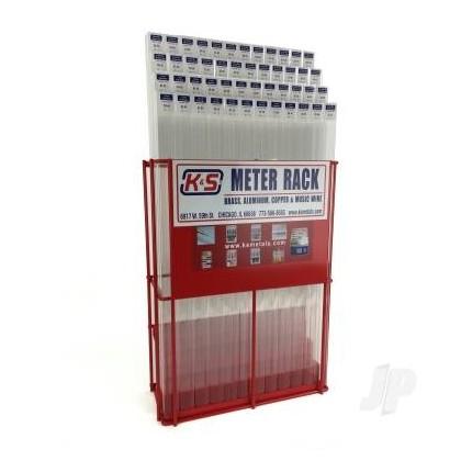 K&S 3900 Metal Centre One Meter METRIC Rack (KNS3900)