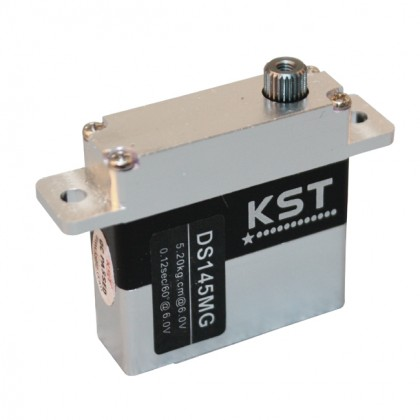KST DS145MG Digital Metal Gear Servo 5.2Kg @ 6.0v