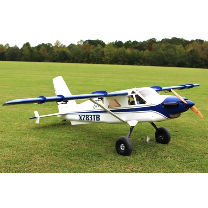 "84"" Turbo Bushmaster ARF kit - White / Blue from Extreme Flight L304BW"