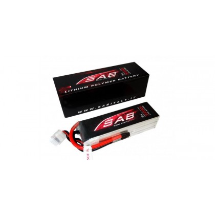 LIPO SAB 6S 3200mAh Ideal for the SAKR84 – KR84 TORTUGA