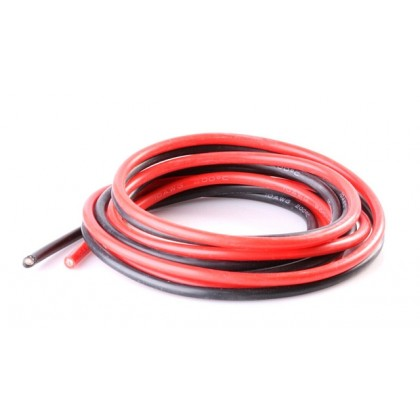 Logic RC Silicone Wire 14AWG 1m Black/1m Red (O-LGL-SW14AWG)