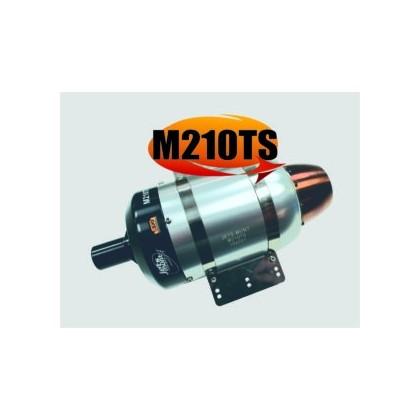 JetsMunt Merlin M210TS 210N thrust. (47 lb) Turbine Engine