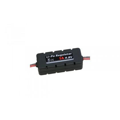Etronix LiPo Regulator 4.8v 5A W/Casing 20x14x49mm ET0555