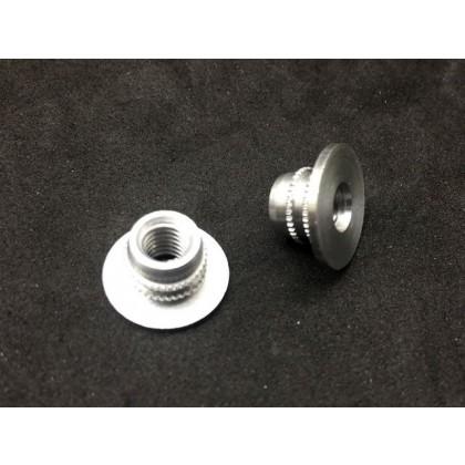 Mounting Nuts Aluminum M6 Captive Nuts 5 pcs X0373