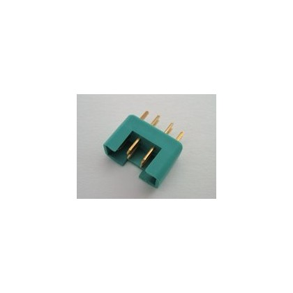 MPX Connector 60 amp High Current Green - Male
