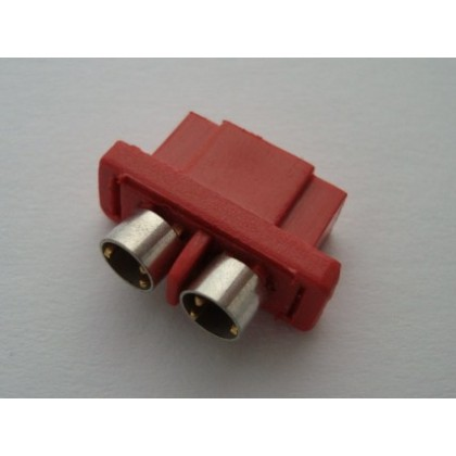 MPX Connector Red - Female with Rings