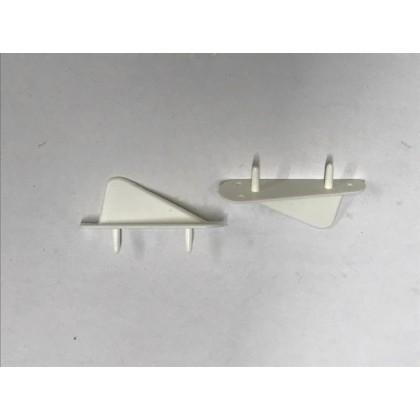 Nexus Models Plastic Tail/Wing Tip Skid PK2
