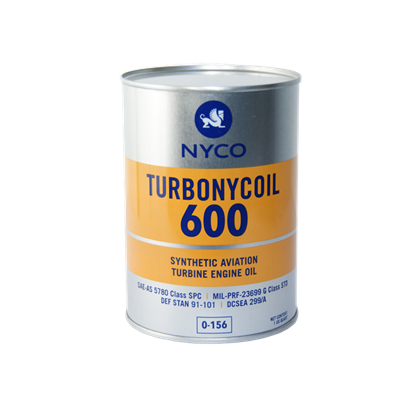 NYCO TURBONYCOIL 600 Turbine Oil similar to Mobile jet 2