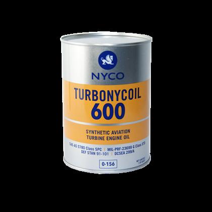 NYCO TURBONYCOIL 600 Turbine Oil similar to Mobile jet 2
