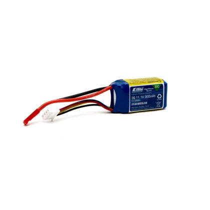E-Flite 300mAh 3S 11.1V 30C LiPo Battery EFLB3003SJ30