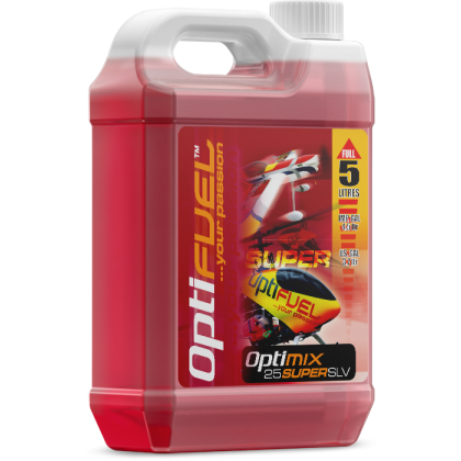 Optimix 25 Super SLV Acro Flyer Glow Fuel from OptiFuel OH2522SLV