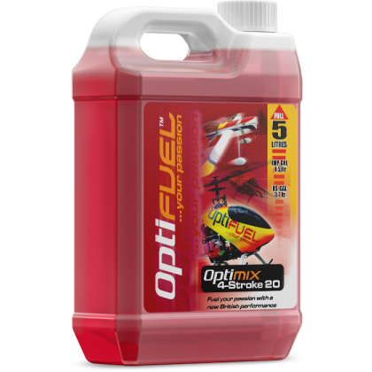 Optimix 20 4-Stroke Glow Fuel from OptiFuel OH2020SLK