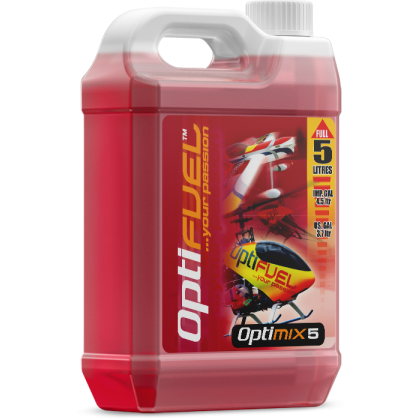 Optimix 5 Sport Flyer Glow Fuel from OptiFuel OH0518K