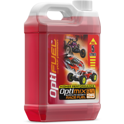 Optimix Race 25% Nitro Car Fuel 5 Litres OP2002