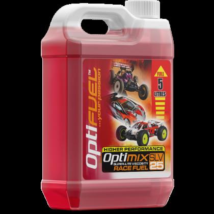 Optimix Race 25% Nitro Car Fuel 5 Litres OP2002
