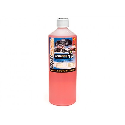 Optifuel Optimix RTR 16% Nitro Car Fuel 1 Litre OP1001