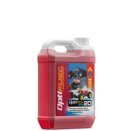 Optifuel Optimix RTR 20% Nitro Car Fuel 2.5 Litre OP1005
