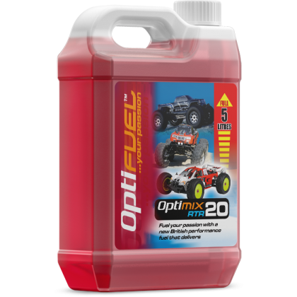 Optifuel Optimix RTR 20% Nitro Car Fuel 5 Litre OP1006K