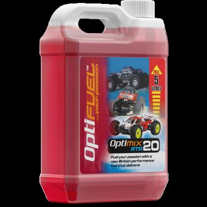Optimix RTR 20% Nitro Car Fuel 5 Litre OP1006K